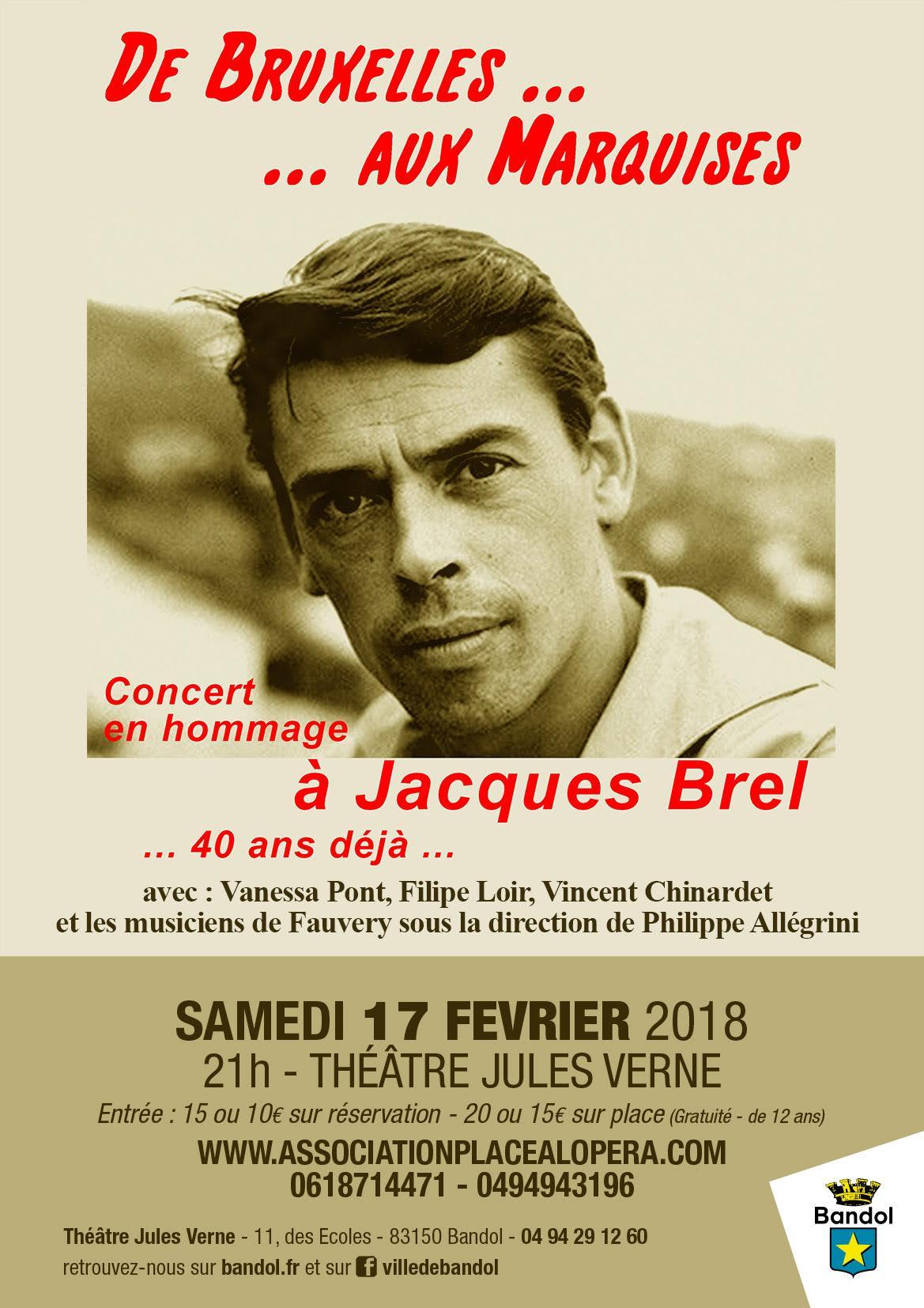 Hommage à Jacques Brel